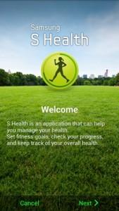 S Health Galaxy S6